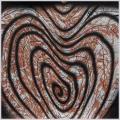 Kígyó, 2005, számítógépes grafika, papír, 203x202 mm, (magántulajdon)
