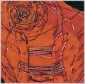 Minotaurosz, 2005, számítógépes grafika, papír, 202x204 mm