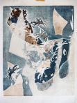 A Tejút fia, 1996, monotípia, papír, 58x46 cm
