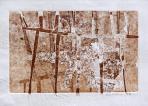 A ol, Kerítés, 1996, monotípia, papír, 35x46 cm
