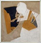 Gang, 1990, sgraffito, hungarocell, farost, 103x98,5 cm (kerettel)