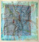 Karácsonyi kaktusz (Zsennye), 2002, pasztell, ceruza, papír, 74x69 cm, (magántulajdon)