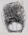 Fej, 2005, számítógépes grafika, papír, 227x194 mm