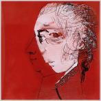 Mozart, 2005, számítógépes grafika, papír, 200x200 mm, (magántulajdon)